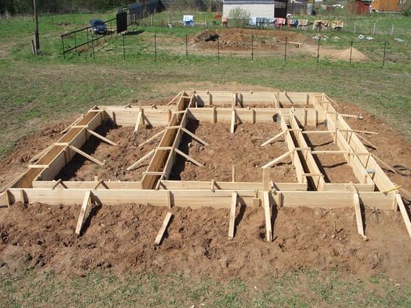 Строю дом сам своими руками фундамент
