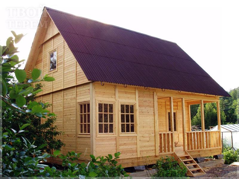 Построить недорогой дом своими руками фото