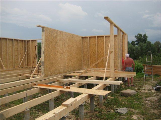 Построил дом своими руками фото